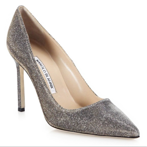 Manolo Blahnik Mesh Pointed-Toe Pumps best wholesale cheap price 0Nzs7